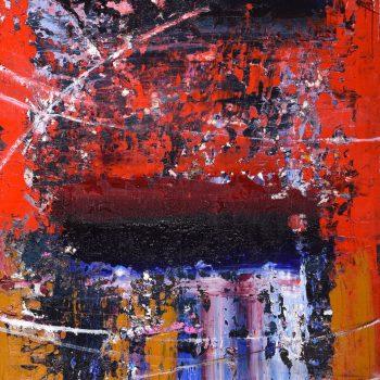 Abstrakt 1. - Mykola Bodnar - oil painting