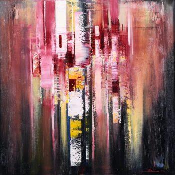 Abstrakt 10. - Mykola Bodnar - oil painting