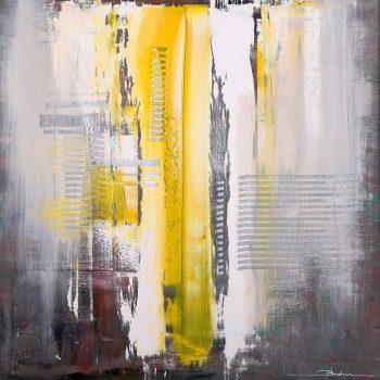 Abstrakt 11. - Mykola Bodnar - oil painting