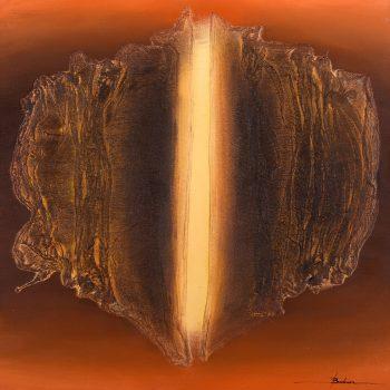 Abstrakt 12. - Mykola Bodnar - oil painting