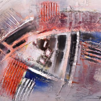 Abstrakt 2. - Mykola Bodnar - oil painting
