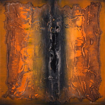 Abstrakt 3. - Mykola Bodnar - oil painting