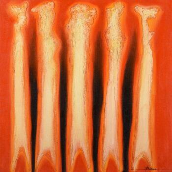 Abstrakt 4. - Mykola Bodnar - oil painting