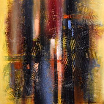 Abstrakt 5. - Mykola Bodnar - oil painting