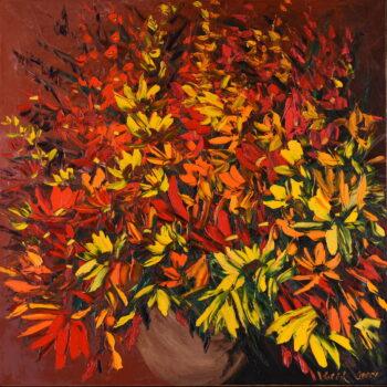 Podzimní kytice - Josef Valčík - acrylic painting