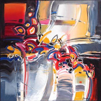 Abstrakce FK 1 - Mykola Bodnar - oil painting