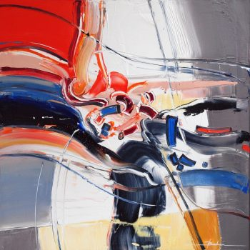 Abstrakce FK 2 - Mykola Bodnar - oil painting
