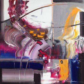 Abstrakce FK 3 - Mykola Bodnar - oil painting