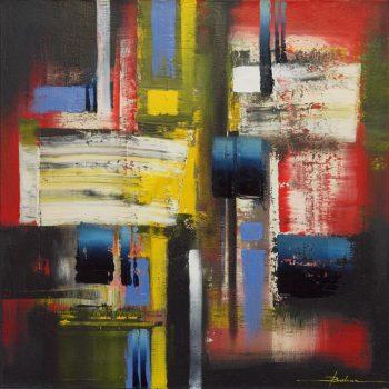 Abstrakce HV 1 - Mykola Bodnar - oil painting