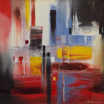 Abstrakce HV 2 - Mykola Bodnar - oil painting