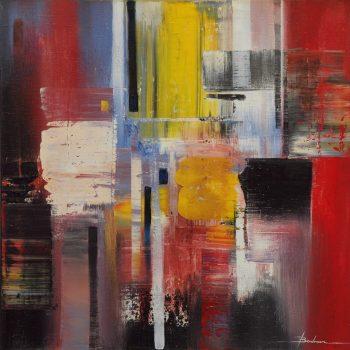 Abstrakce HV 3 - Mykola Bodnar - oil painting