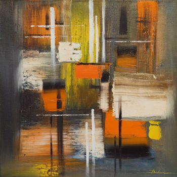 Abstrakce HV 4 - Mykola Bodnar - oil painting