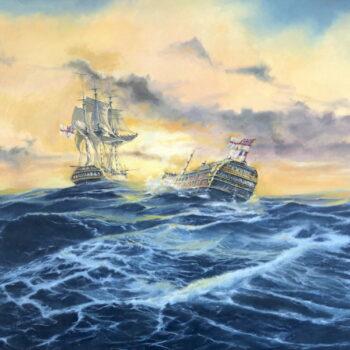 Glorious First June - Václav K. Killer - oil painting